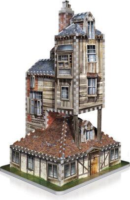 Redstring Puzzle 3D Harry Potter La Madriguera Casa Familiar Weasley, Multicolor, Talla Única
