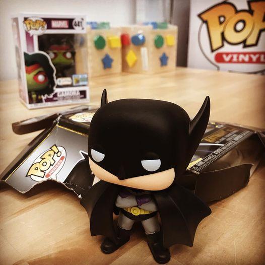 Batman, caja rota