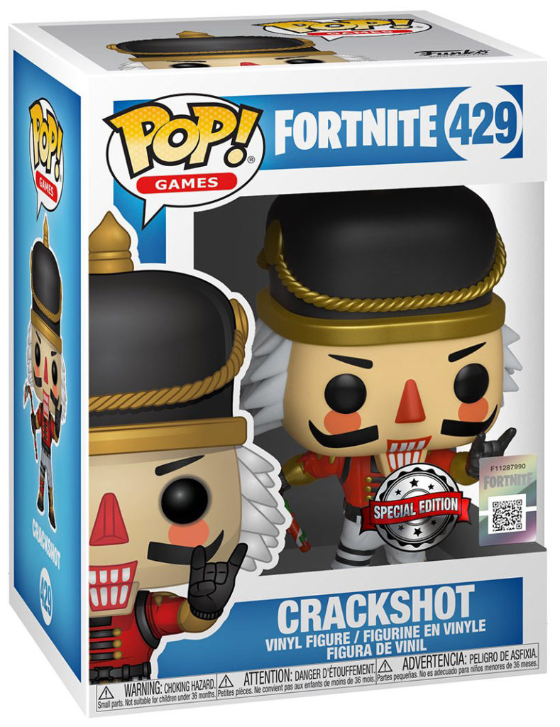 Funko pop Fornite Crackshot